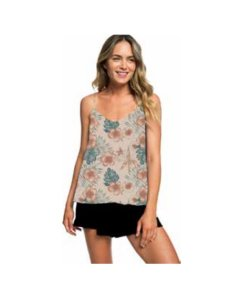 Musculosa Roxy Floral Slow